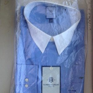 Tommy Hilfiger Ithaca Dress Shirt New